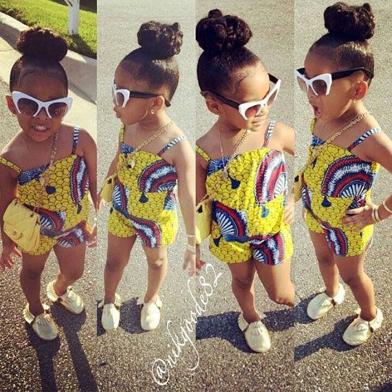 African print shorts romper by VintageBeauty86 on Etsy