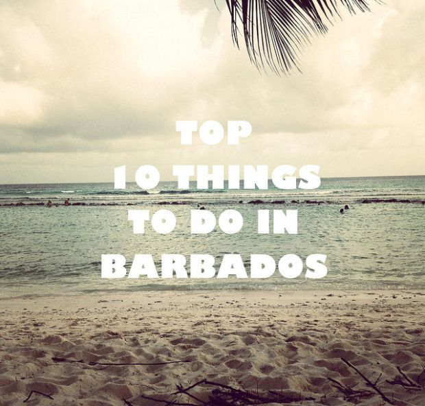 10 Amazing Things to See & Do in Barbados!  #Barbados #Travel #Beaches