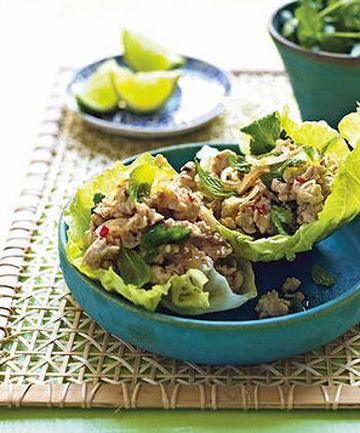 Thai chicken larb - Michelle Bridges
