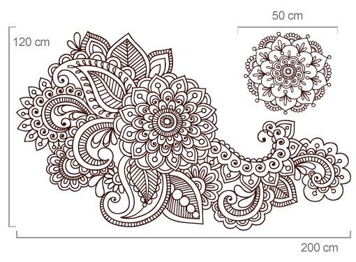 25 Melhores Ideias Sobre Tatuagens Florais De Desenhos Indianos No Pinterest Tatuagens De