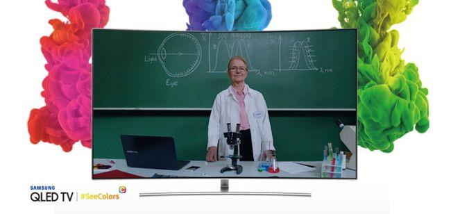 Samsung presenta SeeColors para QLED una app de calibración por si tenemos dificultades para percibir bien los colores