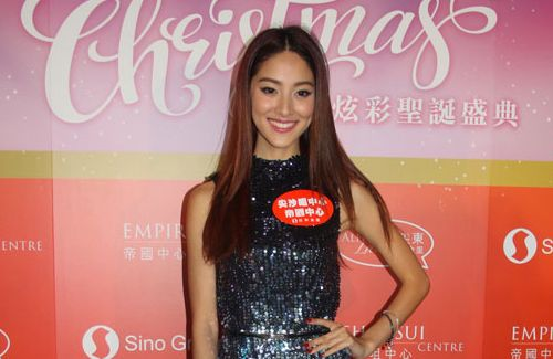 Although Christmas is one of her favorite holidays, Grace Chan is not sure if she has time to celebrate it with boyfriend Kevin Cheng.