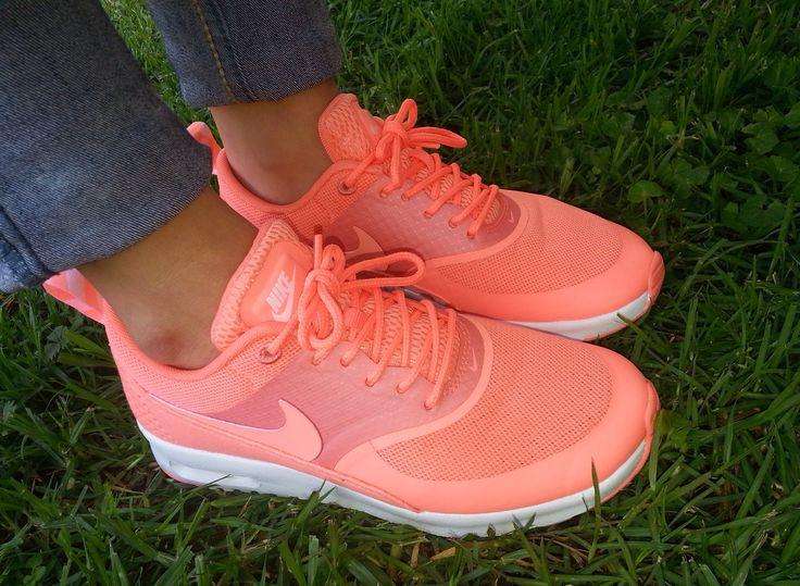 regarder 51776 7e1e8 Orange Nike Air Max Thea leoncamier.co.uk