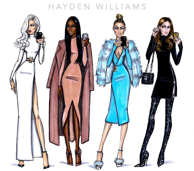 The Selfie Series by Hayden Williams