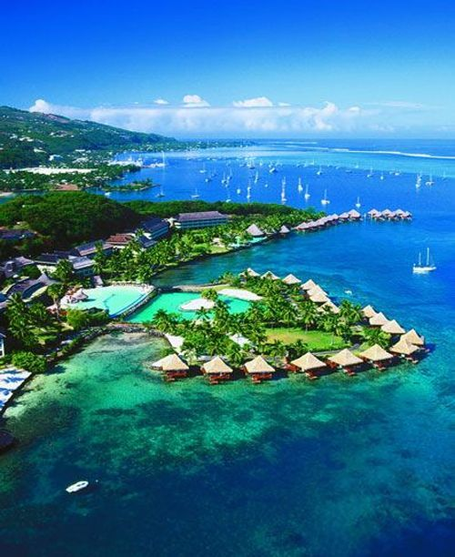 Tahiti Accommodation Over Water Bungalows: 24 Best Fiji Cocktails Images On Pinterest
