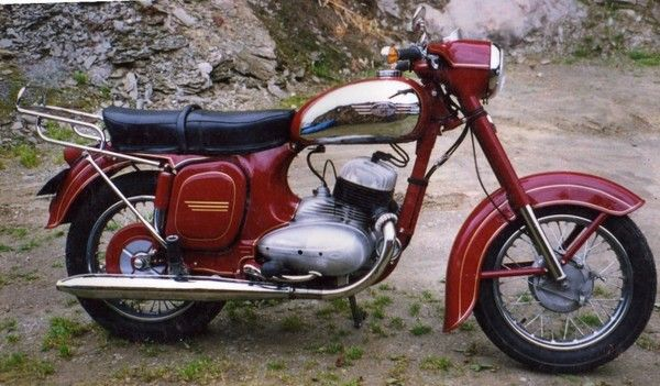 Pin Jawa 350 Type 634 5 #motorcycles #motorbikes #Czechia