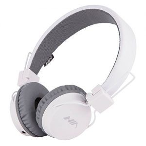 Simple  Headsets with In Line Control Detachable Mm Audio Cable for Children Boys Girls Earphones for Smartphones PC Music Gaming Kids Headphones White