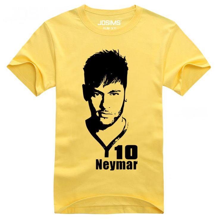 2016 Summer World Cup Neymar da Silva men's T-shirt bodybuilding child compression t-shirt camisetas de futbol maillot de foot #Affiliate