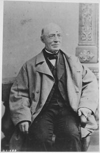 """William Lloyd Garrison (December 10, 1805 – May 24, 1879) was a prominent American abolitionist, journalist, and social reformer. He is best known as the editor of the abolitionist newspaper The Liberator, and was one of the founders of the American Anti-Slavery Society. He promoted """"immediate emancipation"""" of slaves in the United States. Garrison was also a prominent voice for the women's suffrage movement."""