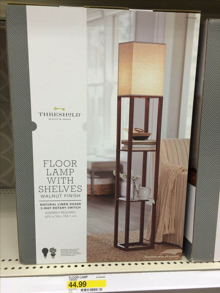 Threshold floor lamp with shelves (Target) - Best 25+ Floor Lamp With Shelves Ideas On Pinterest DIY Exterior