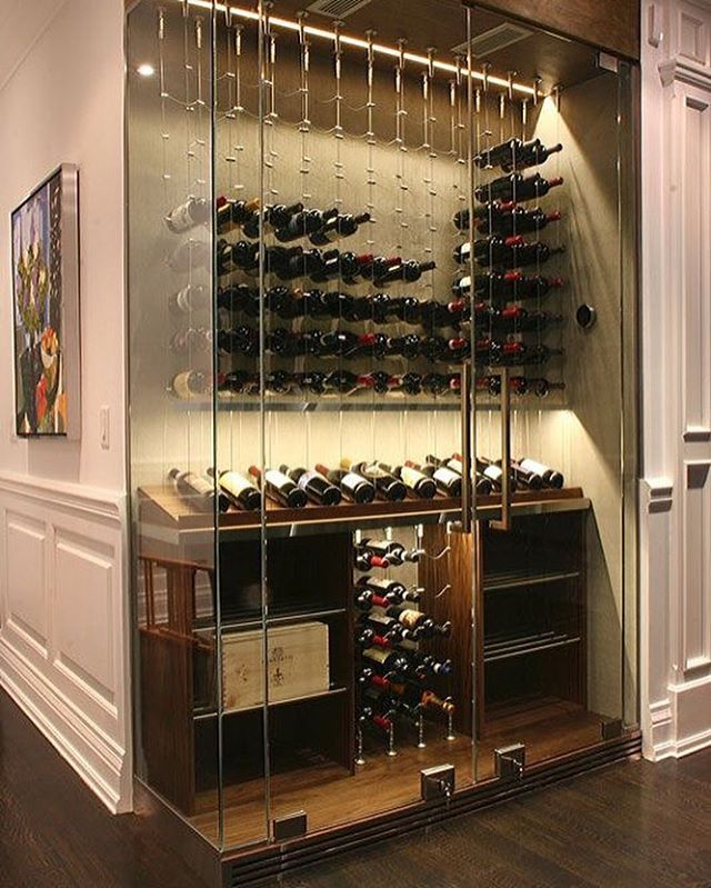 "If we wanted to do a wine cellar sort of vibe in the dining area ""alcove"""