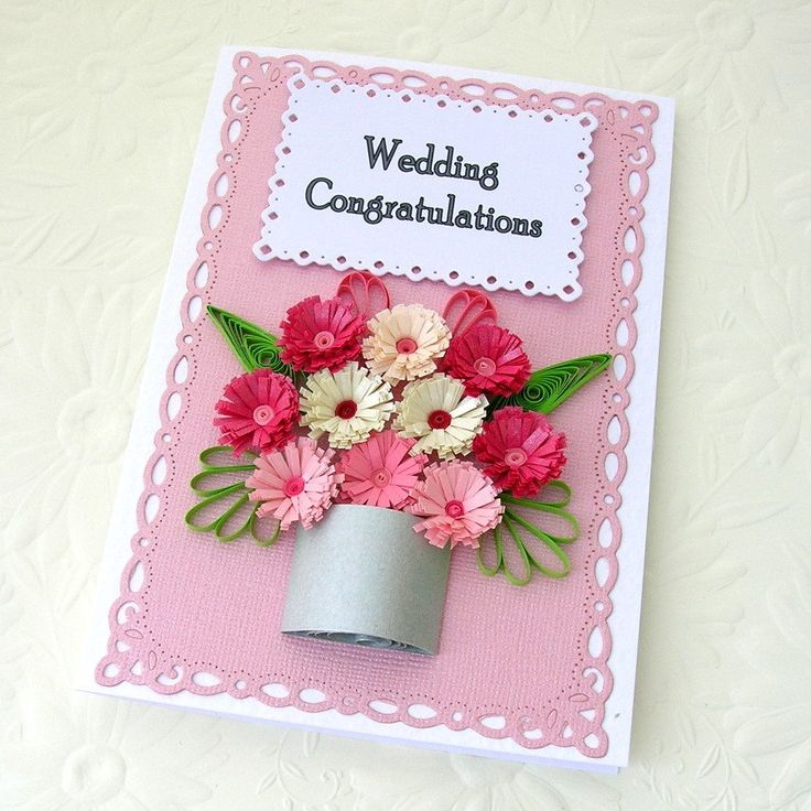Wedding congratulation...