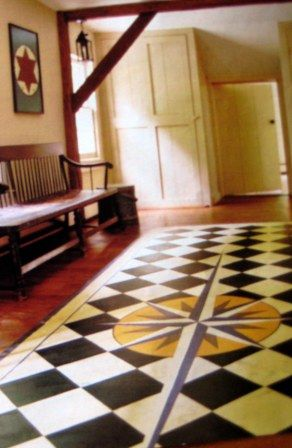 17 Best Images About Painted Canvas Floor Cloths On