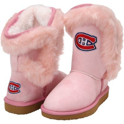 Montreal Canadiens Youth Girls Fanatic Boots