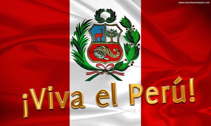 Feliz Día de las Fiestas Patrias - 28 de Julio - Perú