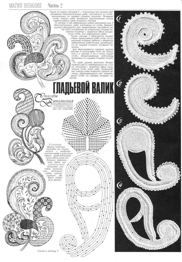 478 best irish crochet images on Pinterest   Irisch häkeln ...