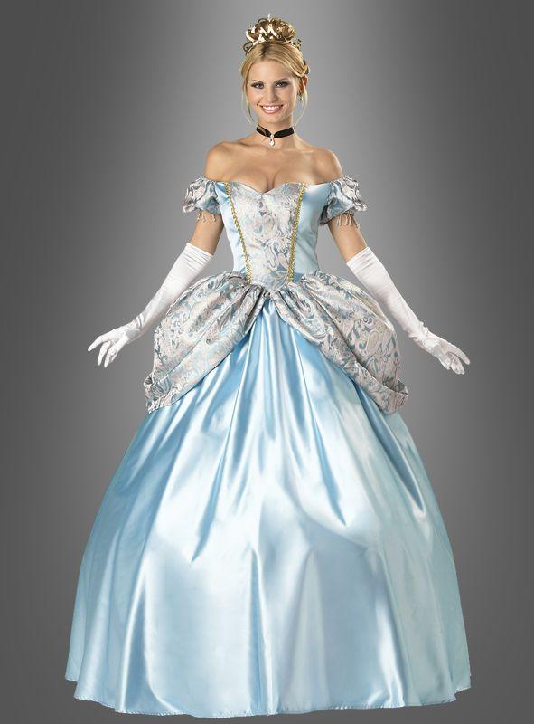 DELUXE Prinzessin Kostüm Ballkleid