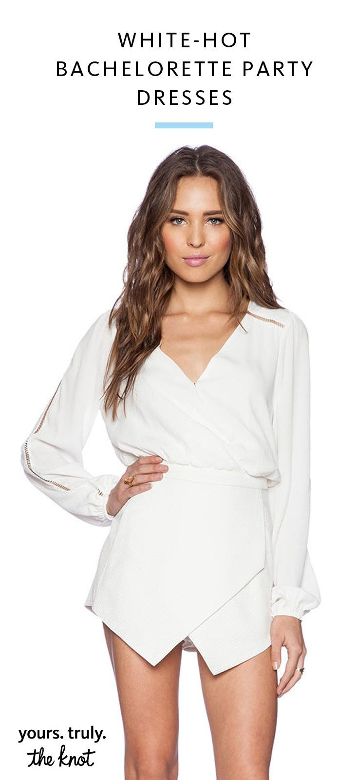 White Hot Bachelorette Party Dresses You'll Love |