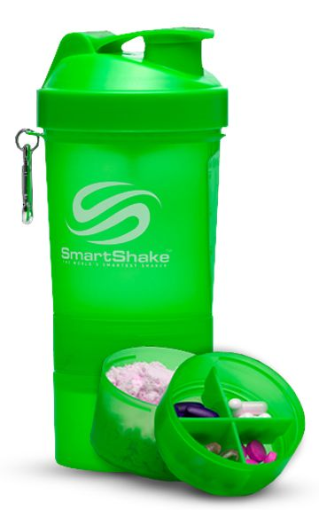 Smart Shake - Compartments For Vits & Protein