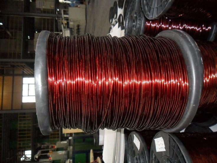 super enameled aluminum wire.