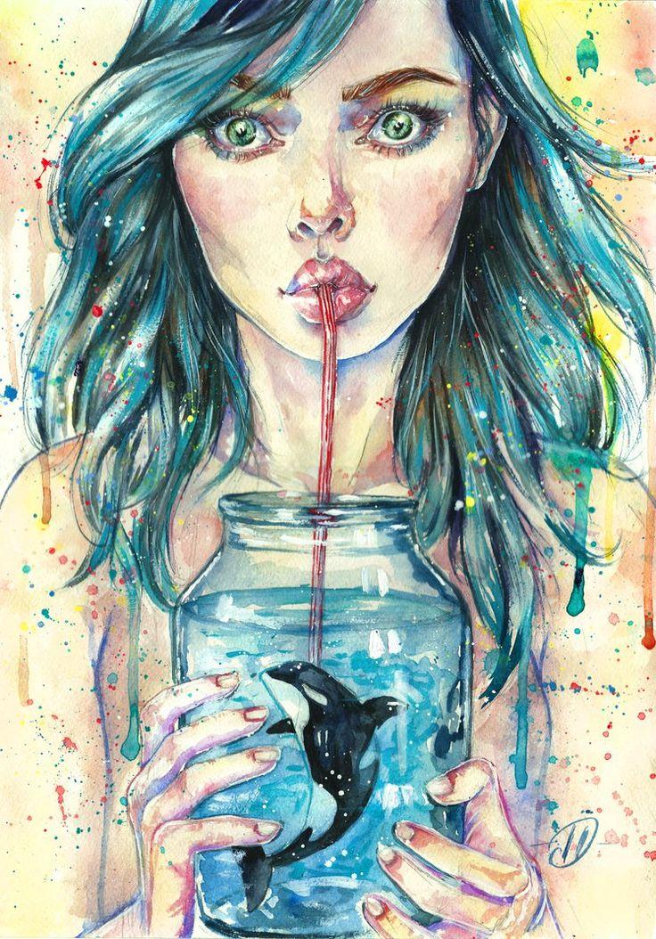 Thirst Makes Greed by Poplavskaya