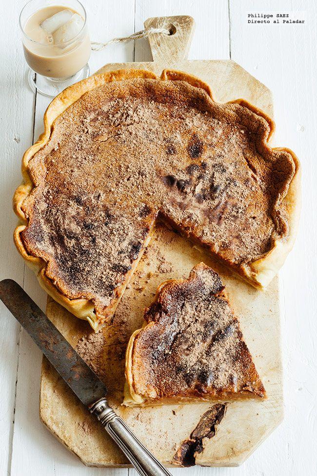 Receta fácil de la tarta de chcolate. Receta con fotografías del paso a paso y recomendaciones de degustación. Recetas de postres fáciles de hacer