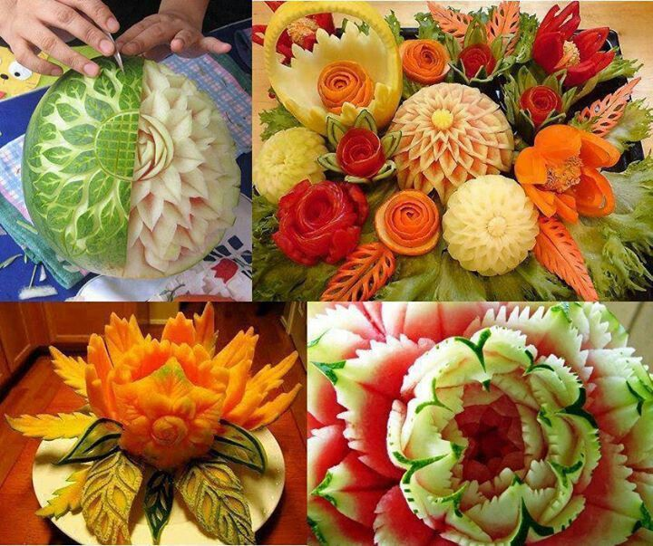 Best images about fruit veggie carvings amazing on