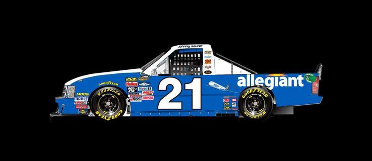 Paint Scheme Preview: Kentucky Wednesday, July 5, 2017 Johnny Sauter will drive the No. 21 Allegiant Airlines Chevrolet.    Photo: 30 / 36