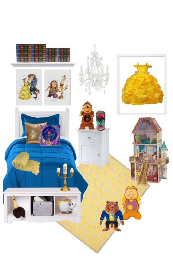 beauty and the beast dream room for your little princess