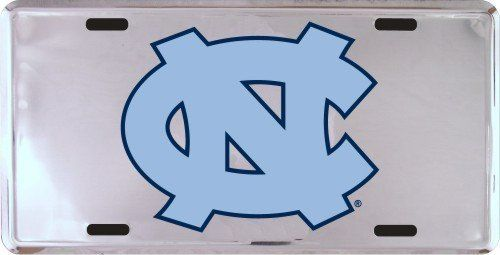 NCAA North Carolina Tar Heels (UNC) Silver Super Stock Metal License Plate, http://www.amazon.com/dp/B002A1NH8E/ref=cm_sw_r_pi_awdm_BxZcub0Z7W1PJ