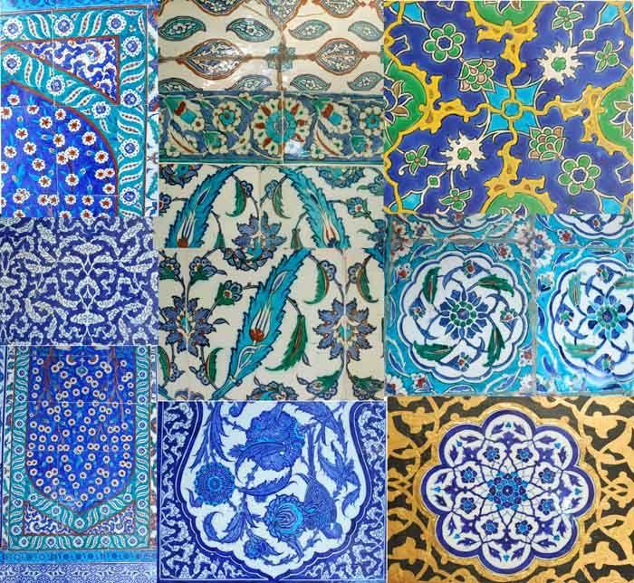 iznik turkish tiles