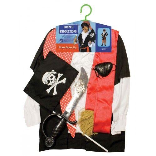 Pirate Kids Costume on Yellow Octopus #giftsforkids #gifts #pirate #kids #costume