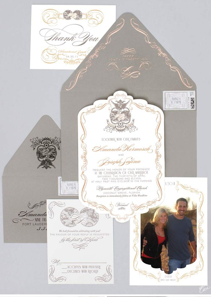 sister wedding invitation card wordings%0A Our Muse  Elegant OldWorld Wedding in Florida  Be inspired by Amanda  u