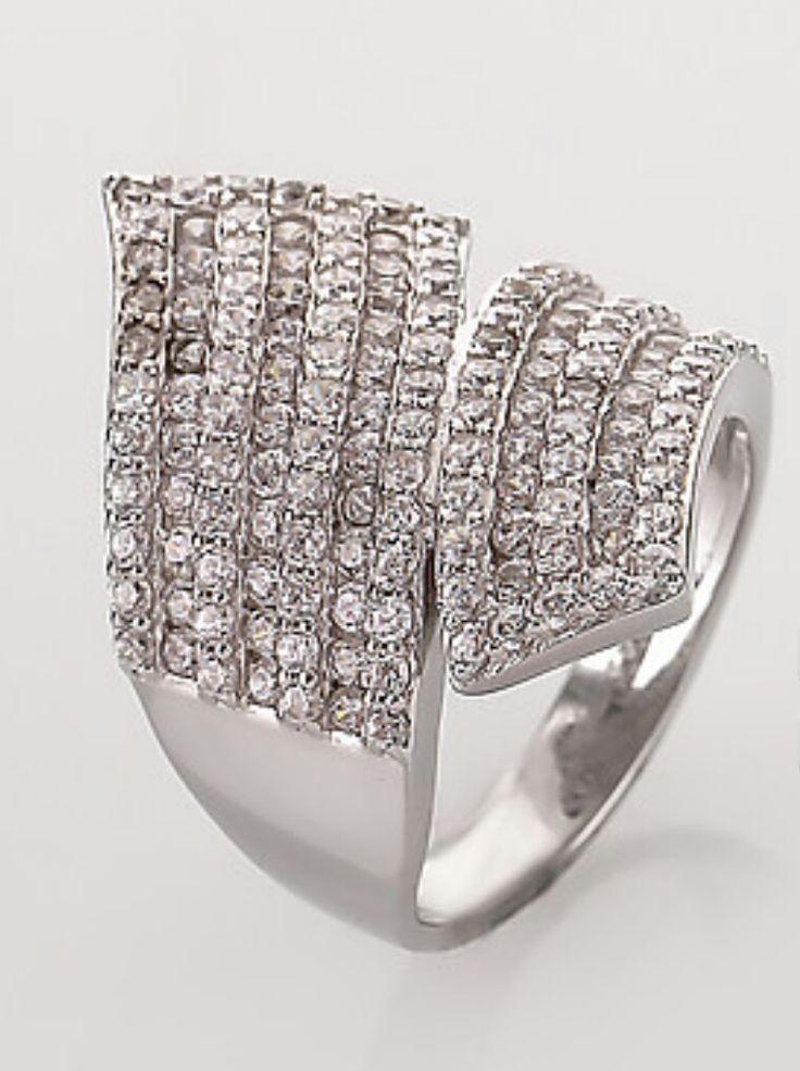 Diamantea anello contrarié 118794- Hse24.it