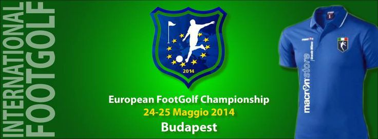 La Nazionale Italiana Footgolf parteciperà all'European Championship in programma dal 23 al 25 maggio 2014 a Budapest.
