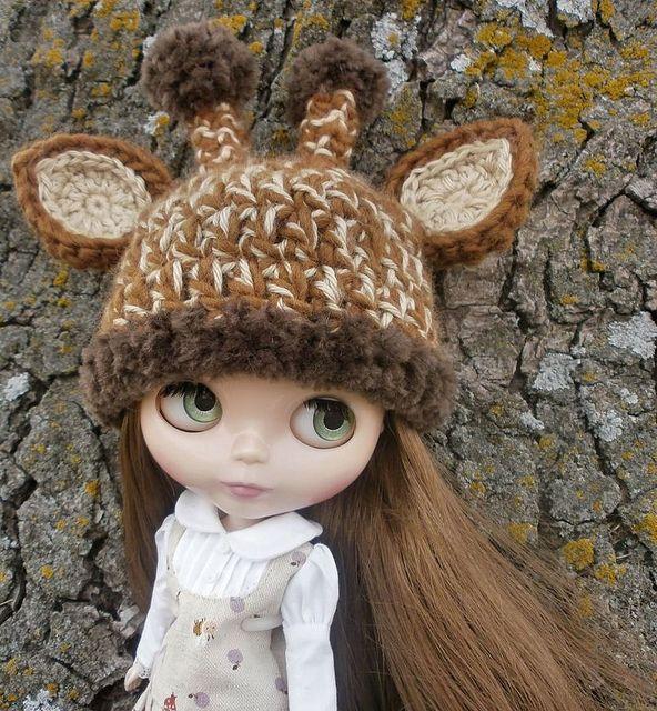 Crochet Giraffe Hat Pattern For Dogs : Crochet Blythe Giraffe Hat Crochet Ideas Pinterest
