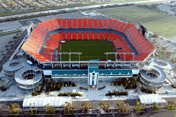 Sun Life Stadium, Miami, FL ... though it will always be Joe Robbie to me!