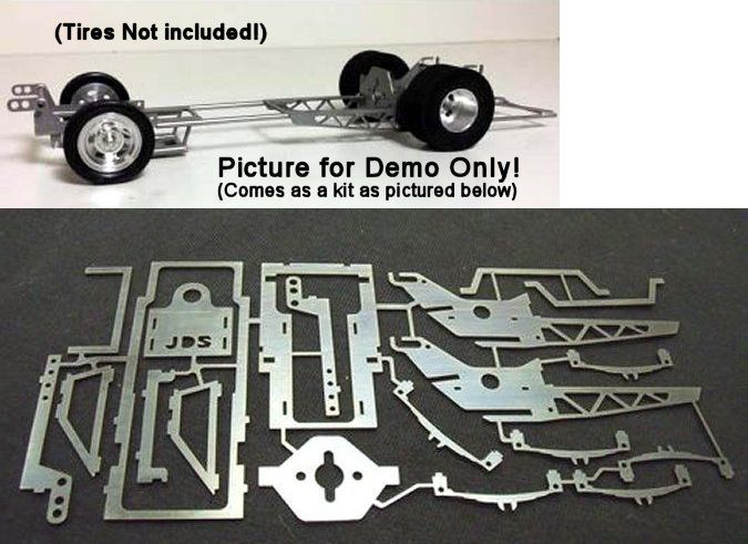 Jds Gasser 1 24 Drag Chassis Kit Chassis Kits Slot Cars Slot Car Racing Sets