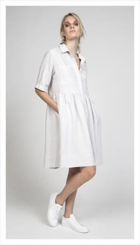 Juliette Hogan   Camille Shirt Dress in Linen