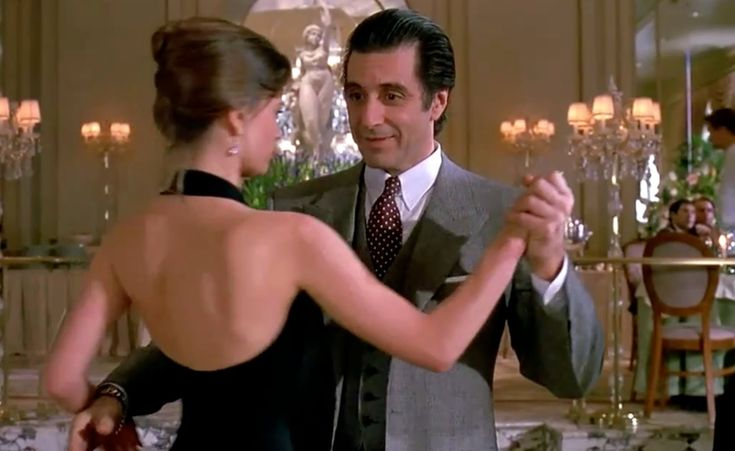 Leonard Cohen ~ Dance Me To The End Of Love with Al Pacino's dance from Scent of a Woman.  Beautiful video.
