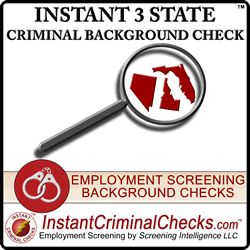 Order a state #CriminalRecordsCheck for $24.95 and a second for an additional $14.95. Then get the 3rd state as a free criminal background check. http://www.instantcriminalchecks.com/criminal-multi-state-criminal-records-check.html
