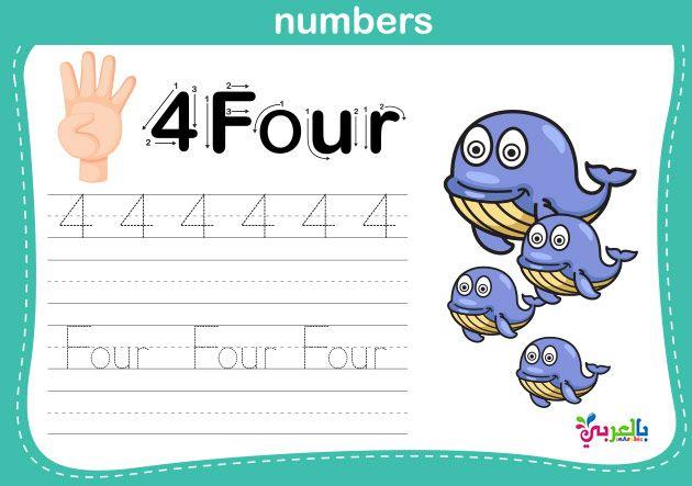 تدريبات الارقام العربية لرياض الاطفال أوراق عمل للطباعة تمارين الارقام عربي بالعربي نتعلم Math Activities Preschool Arabic Kids Kids Education