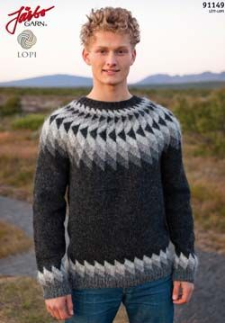 Léttlopi pullover (in Swedish with chart)
