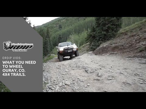ORDIP VIDS: What You Need For Off Roading In Ouray Colorado - YouTube