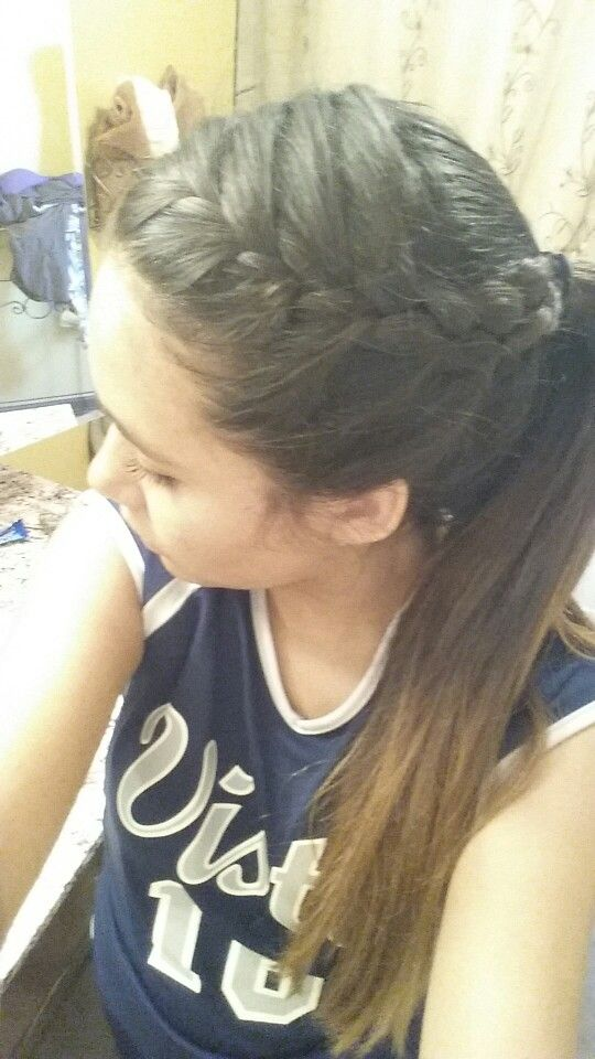 volleyball hairstyles