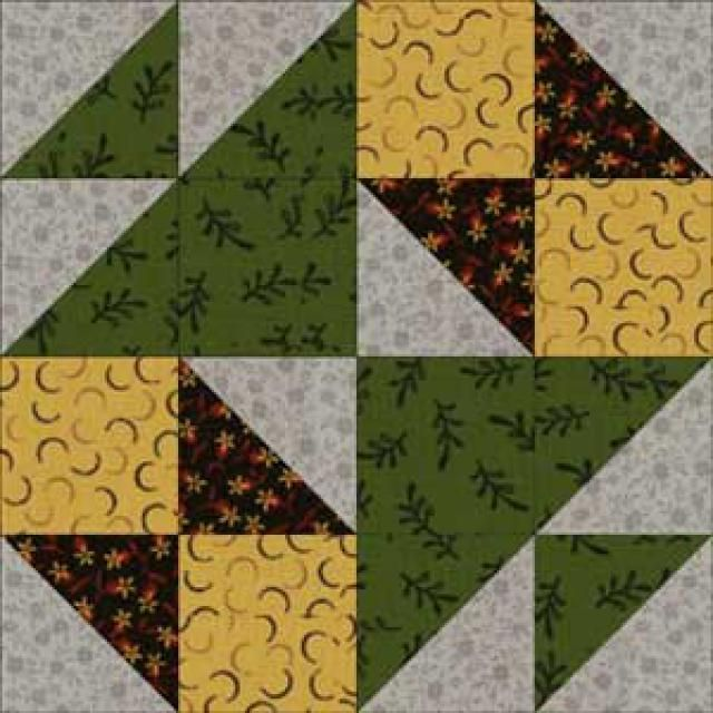 quilt blocks | About the School Girl's Puzzle Quilt Block