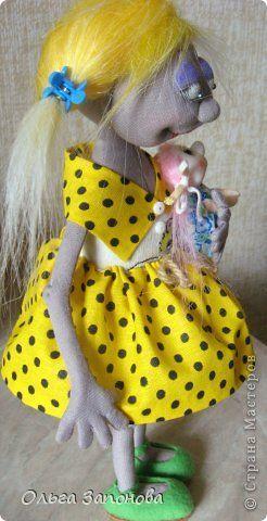Игрушка Куклы Начало учебного года Вязание спицами Шитьё Немного новенького…