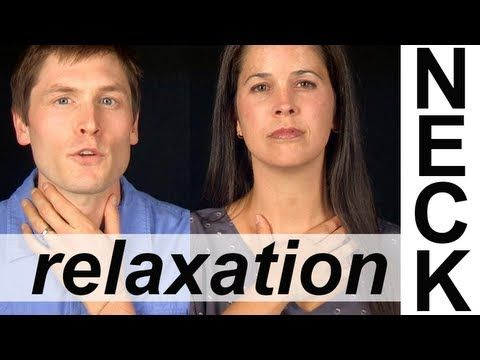 NECK AND THROAT RELAXATION EXERCISES (5 of 6) -- Vocal Exercises -- American English Pronunciation
