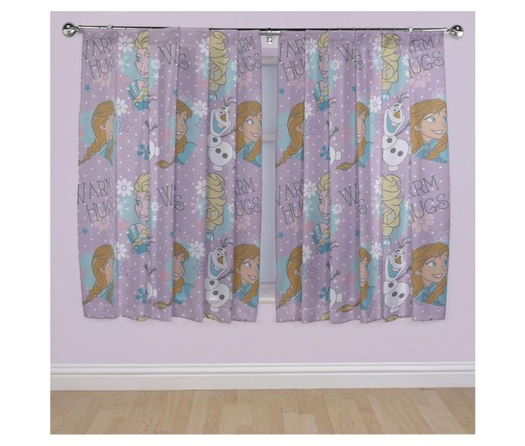 Frozen curtains from Tesco http://www.tesco.com/direct/disney-frozen-anna-elsa-and-olaf-curtains-w168xdrop183cm-multicoloured/293-3504.prd?pageLevel=&skuId=293-3504