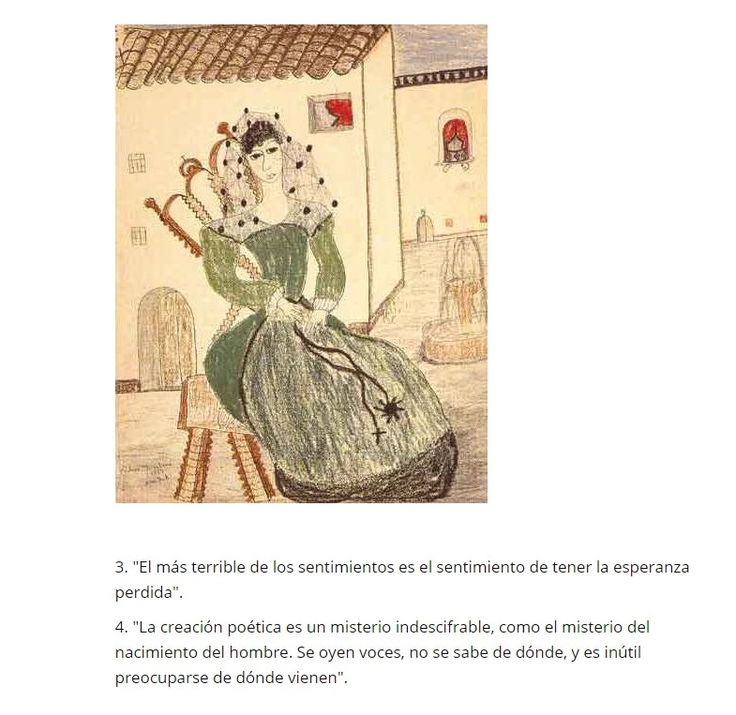 Cultura inquieta, 20 frases de Lorca.